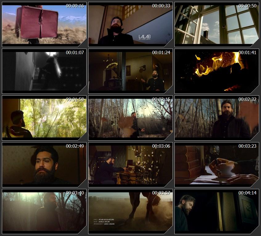 دانلود موزیک ویدئو جدید علی زندوکیلی به نام لالایی