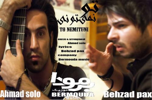 بهزاد پکس و احمد سولو - تو نمیتونی